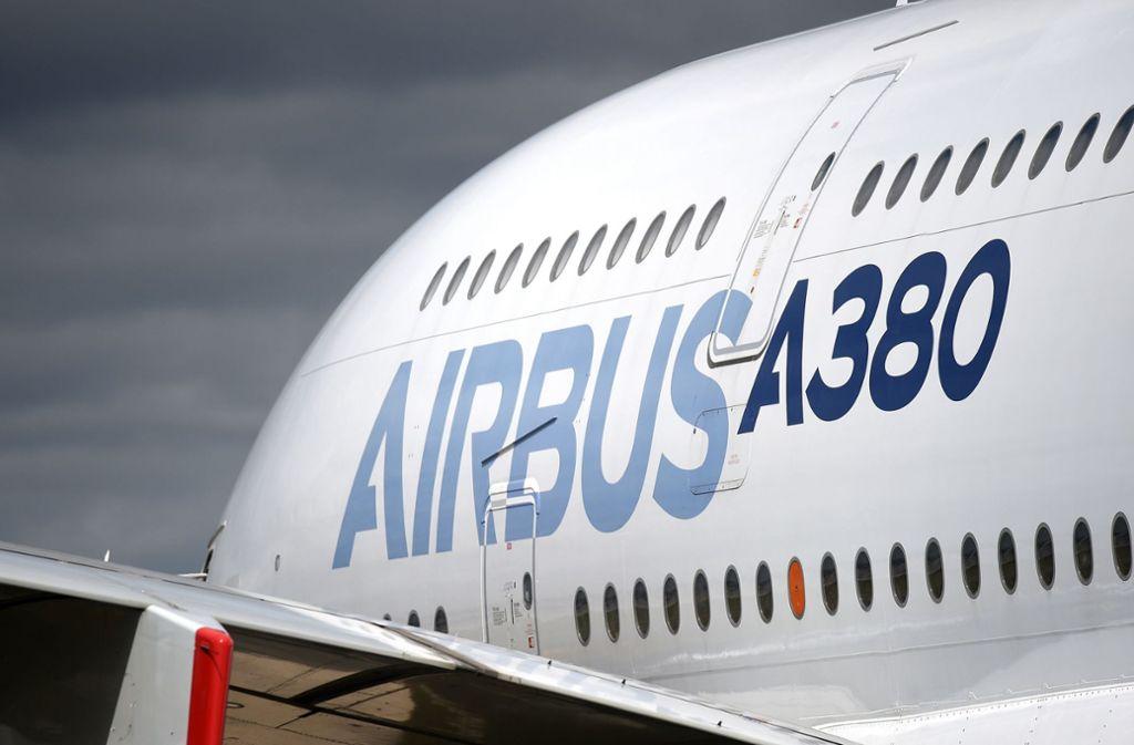 Bei Airbus fiel im Geschäftsjahr 2019 ein Fehlbetrag von knapp 1,4 Milliarden Euro an (Symbolbild). Foto: dpa/Andrew Matthews