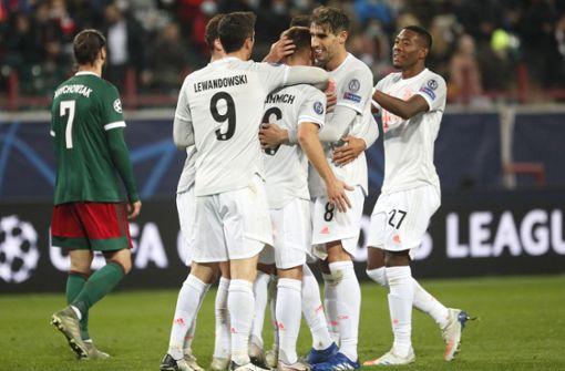 FC Bayern München gewinnt auch gegen Lokomotive Moskau