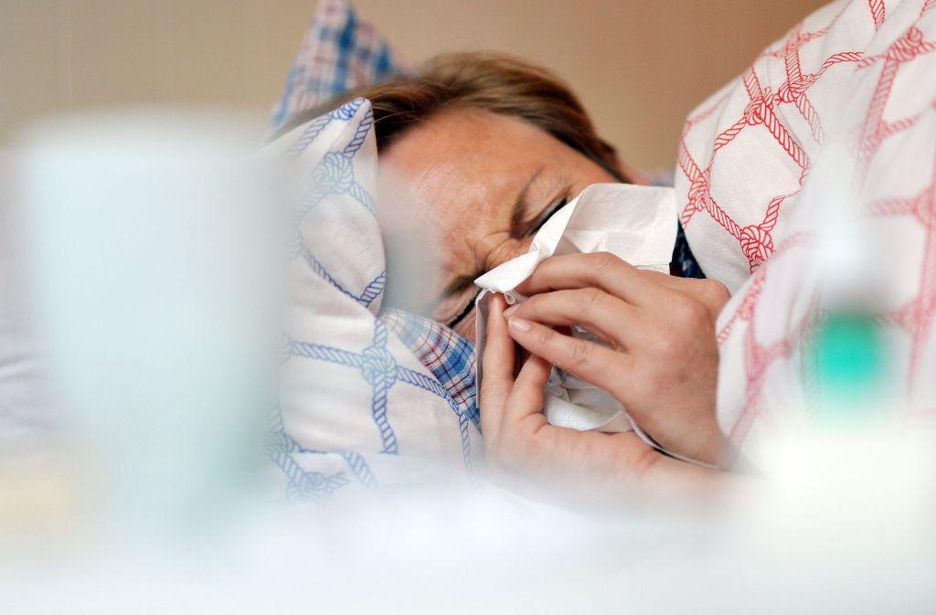 Die aktuelle Grippesaison hat bereits Ende November, und damit außergewöhnlich früh,  begonnen. Foto: dpa