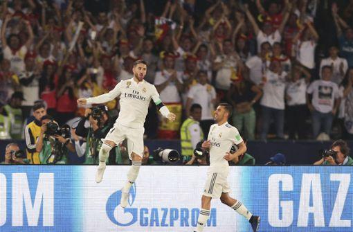 Madrid zum dritten Mal in Serie Club-Weltmeister