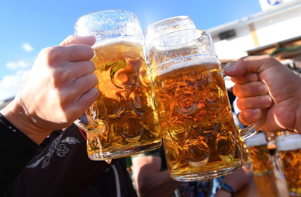 Neuneinhalb Millionen Euro an Bier-Steuern sollen unterschlagen worden sein (Symbolbild) Foto: dpa