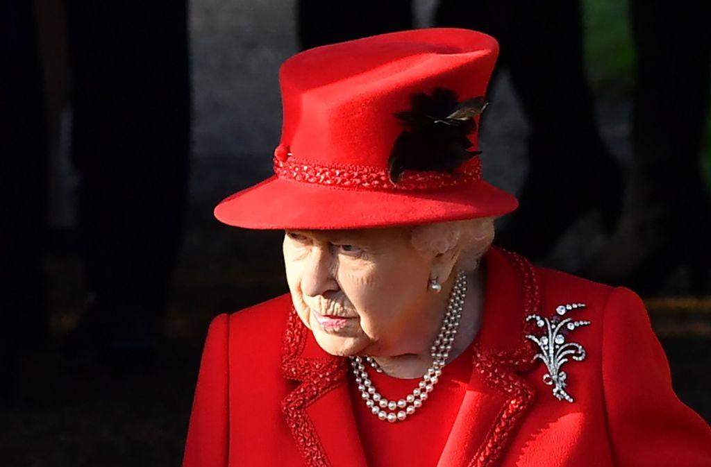 Auch Queen Elizabeth gehört zur Risikogruppe, die Rede wurde unter strengen Vorsichtsmaßnahmen auf Schloss Windsor aufgezeichnet. Foto: AFP/BEN STANSALL