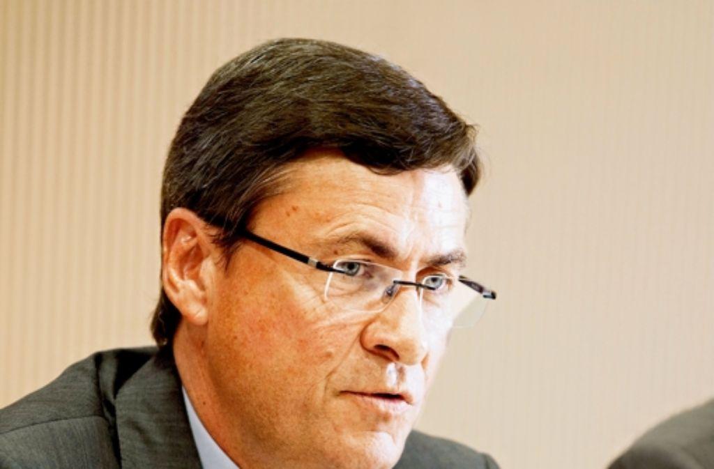 Stuttgarts IHK-Präsident Herbert Müller hat gute Chancen auf eine neue Amtszeit. Foto: dapd