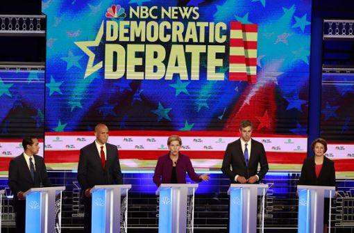 Kampfansage der Demokraten an Donald Trump