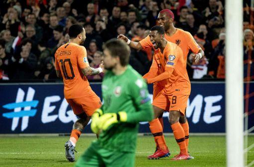 Niederlande für Fußball-Klassiker gegen Deutschland gerüstet