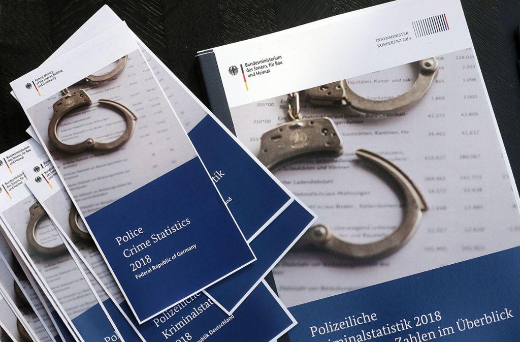 Die Kriminalstatistik 2018 kürt unter anderem die sichersten Regionen in Deutschland Foto: dpa