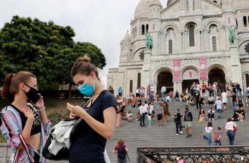 Auch im Freien – In Paris gilt ab sofort Maskenpflicht