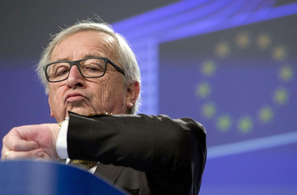 Wie viel Uhr ist es? EU-Kommissionspräsident Jean-Claude Juncker will die Zeitumstellung abschaffen. Foto: AP