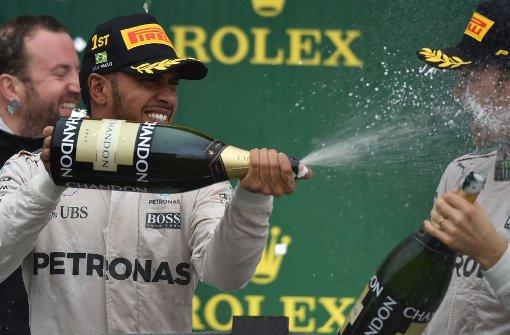 Rosberg und das Rücklicht