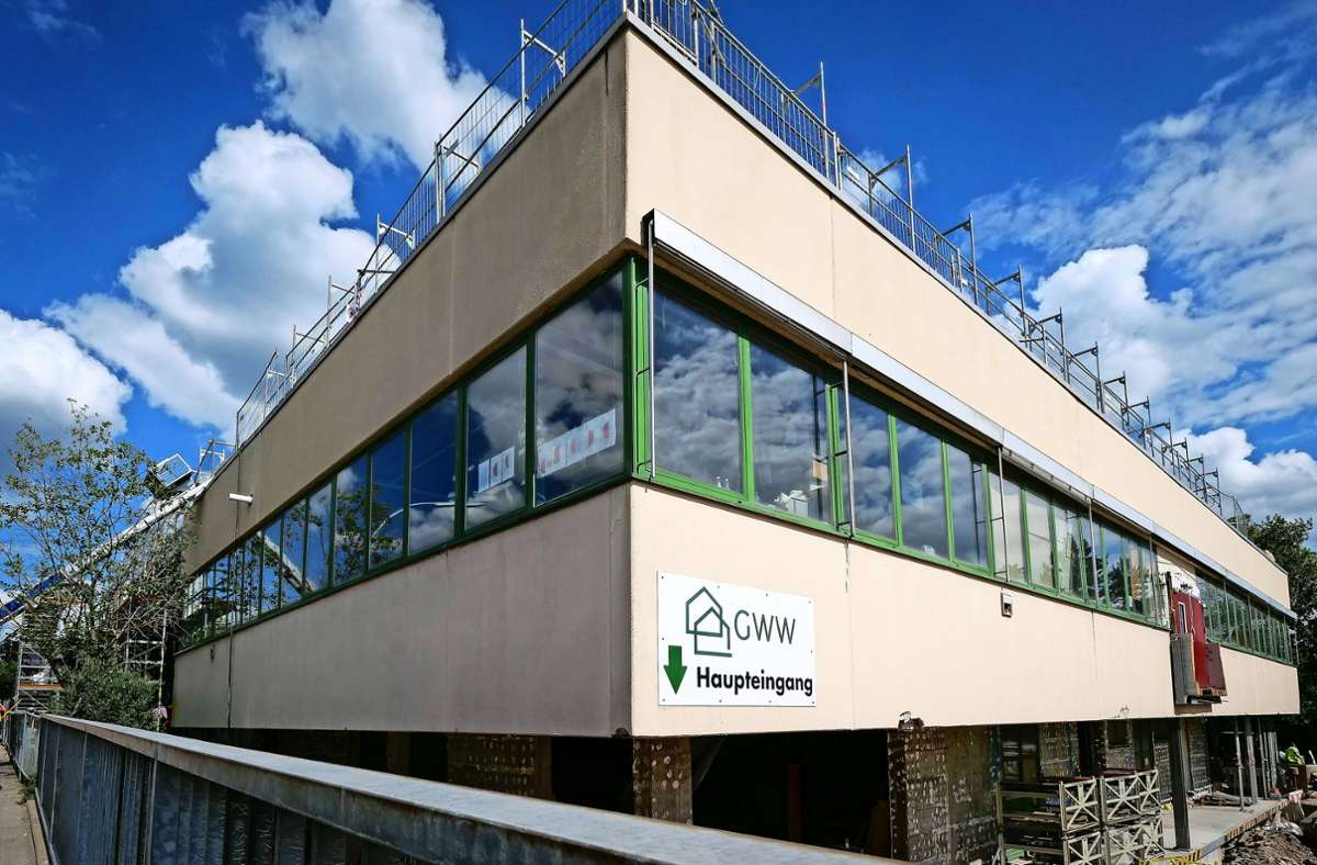 Zur Zeit sind   1018 Mitarbeiter  im Unternehmen – hier der Standort  in Sindelfingen – tätig. Foto: factum/Simon Granville