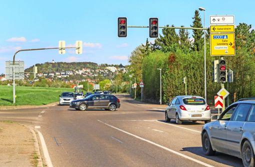 Ein  Kreisverkehr bringt die Autofahrer  schneller ans Ziel