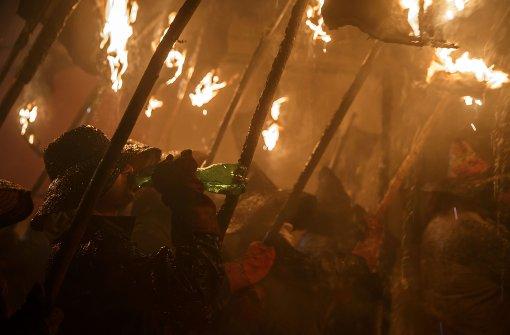 Staatsanwalt berichtet von Hexenverbrennung