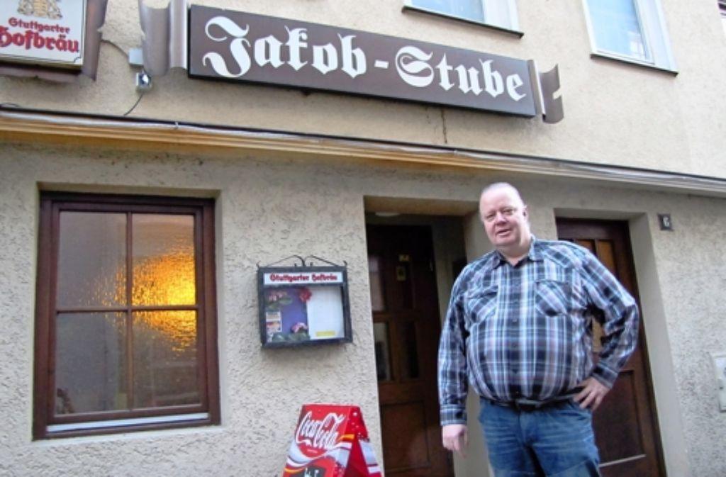 Heinrich Hermann Huth ist seit 2001 der Wirt der Jakob-Stube Foto: red