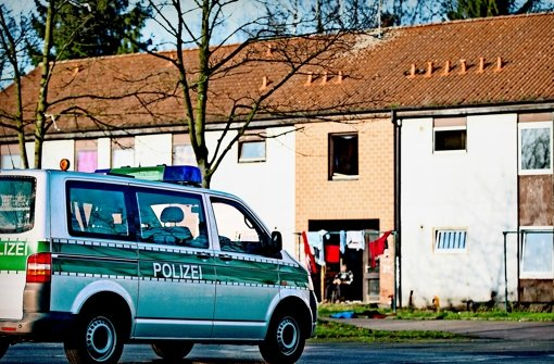 Die Polizei hat auch in der Flüchtlingsunterkunft von Walid Salihi  in Recklinghausen nach Informationen über den Mann gesucht. Foto: dpa
