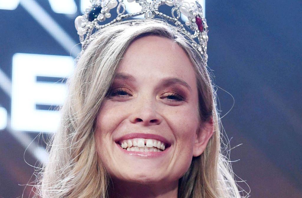 Nadine Berneis ist die neue Miss Germany. Foto: dpa