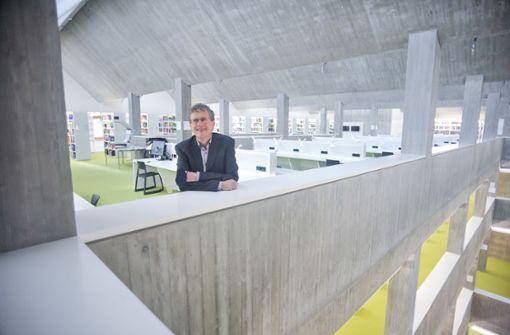 Neue Landesbibliothek: Wo ist der Eingang?