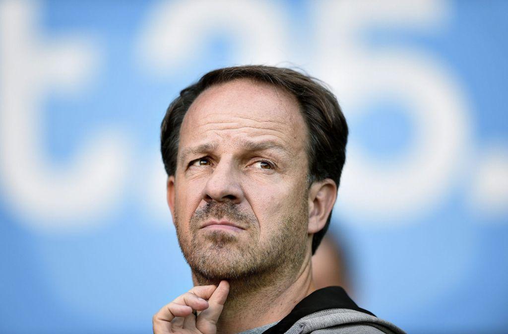 Kritischer Geist: Fußball-Trainer Alexander Zorniger Foto: dpa/Liselotte Sabroe