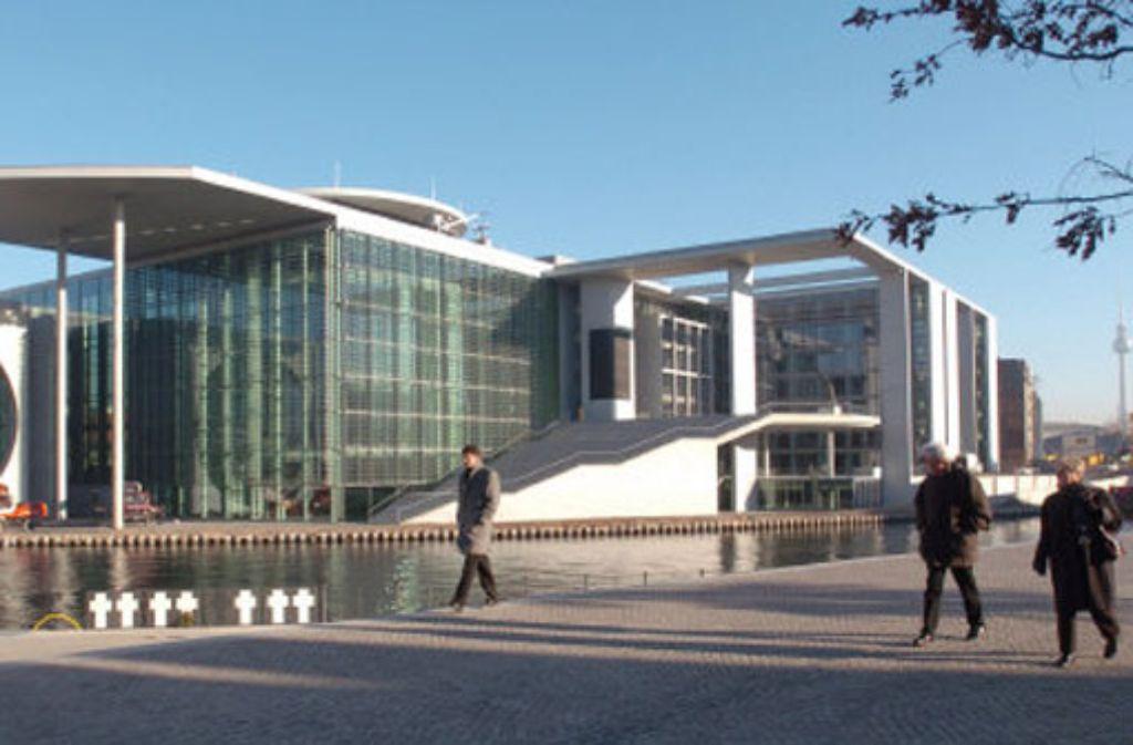 Büros des wissenschaftlichen Dienstes sind im Marie-Elisabeth-Lüders-Haus untegebracht. Foto: dpa