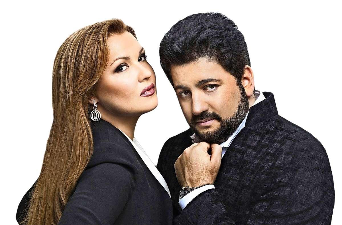 Privat und auf der Konzertbühne ein Paar: Anna Netrebko und Yusif Eyvazov Foto: Vladimir Shirokov