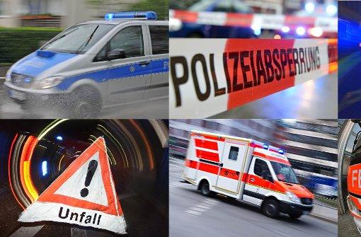 Korntal-Münchingen: Heftiger Unfall an der B10
