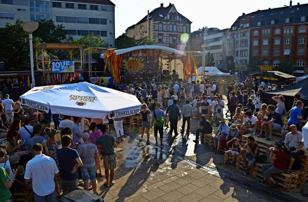 Das Marienplatzfest lockt jedes Jahr die Massen an. Foto: Archiv/ Sandra  Hintermayer