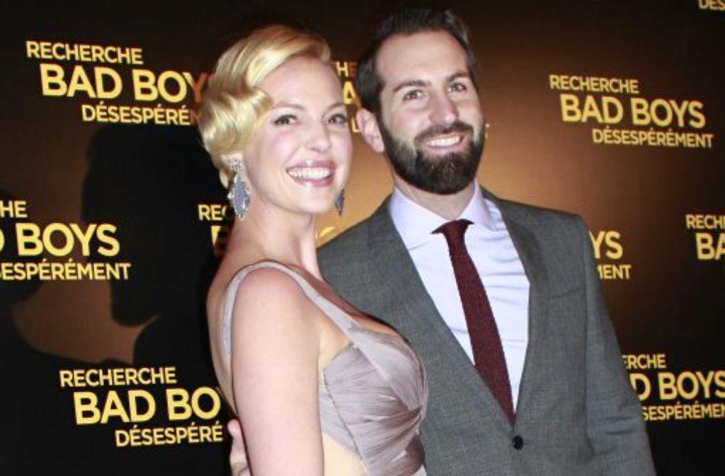 Katherine Heigl und ihr Mann, der Sänger Josh Kelley Foto: AP
