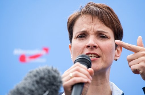 Frauke Petry dementiert Putschgerüchte