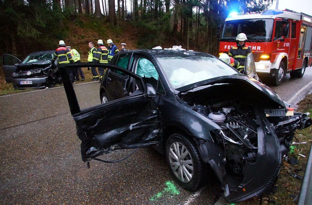 Vor Großerlach im Rems-Murr-Kreis ist es am Dienstagnachmittag zu einem schweren Unfall gekommen. Foto: 7aktuell.de/Marcel Bartenbach