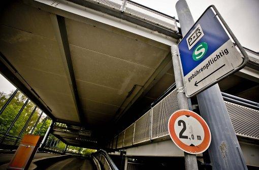 Parkverbot für Sonderlösungen
