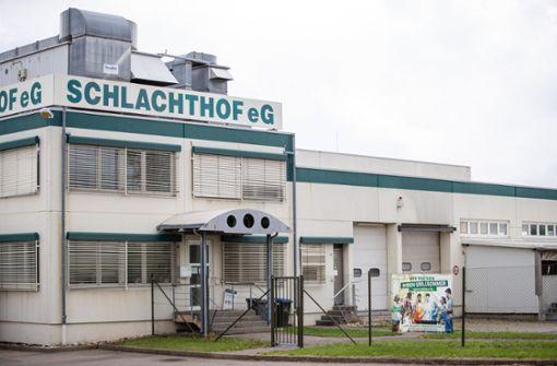 Schlachthof in Gärtringen wird vorübergehend geschlossen