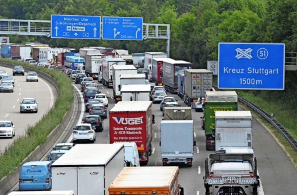 Stau München Stuttgart