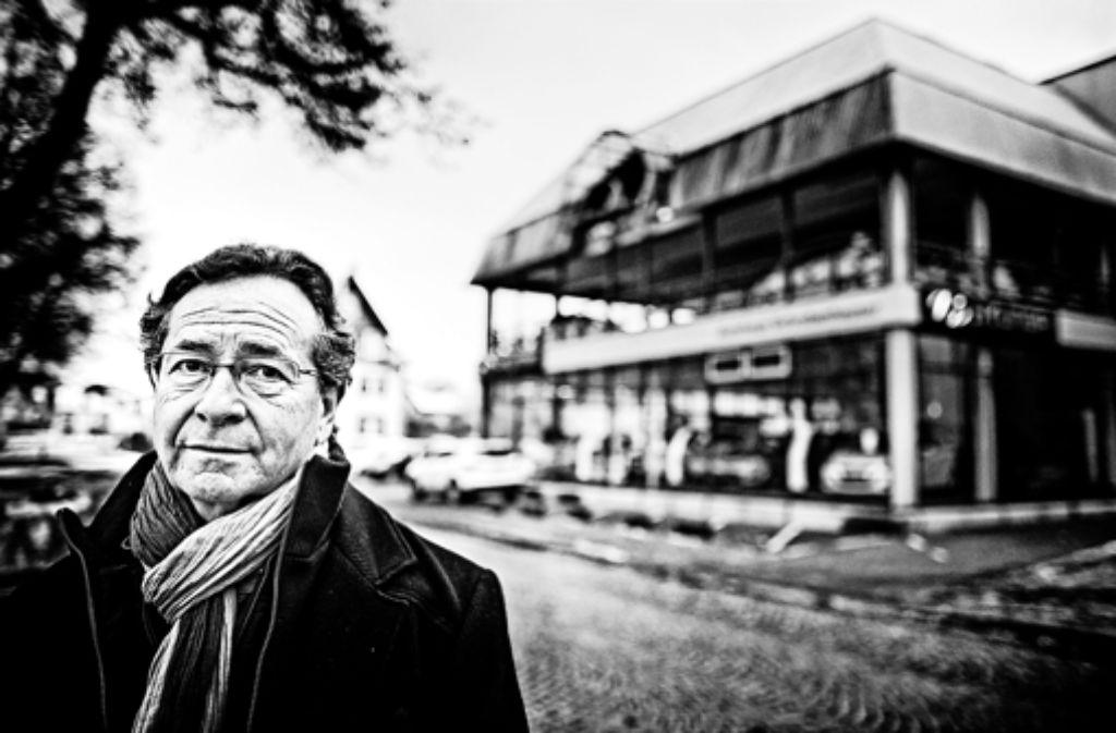 Ein Autohaus steht dort, wo die Familie von Pierre-Louis Bikart bis 1936 in Villingen gewohnt hat. Fünf seiner Angehörigen wurden in Konzentrationslagern getötet. Foto: Heinz Heiss