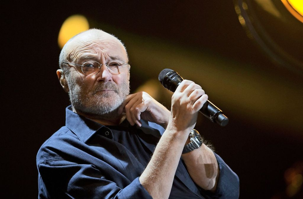 Phil Collins wird gegen 20.30 Uhr auf der Bühne  der Mercedes-Benz-Arena erwartet. Foto: dpa