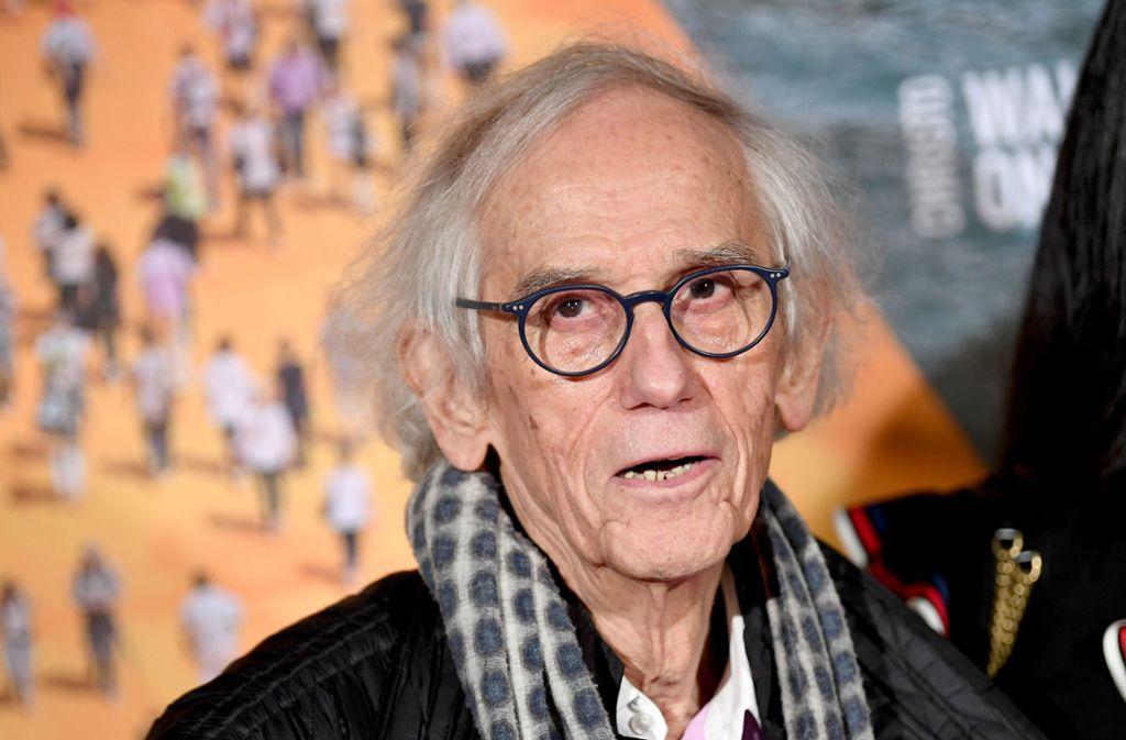Der Künstler Christo ist am Sonntag im Alter von 84 Jahren gestorben. Foto: dpa/Britta Pedersen