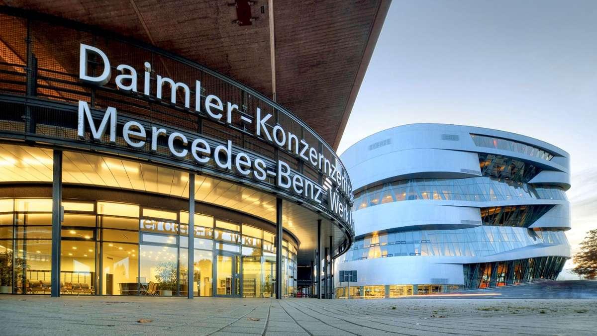 Daimler-Beschäftigte haben  Zukunftsangst