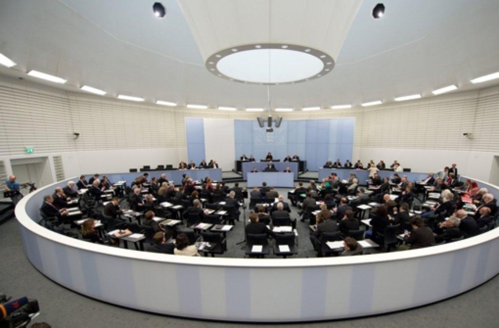 Der baden-württembergische Landtag wählt am Mittwoch einen neuen Präsidenten. Foto: dpa
