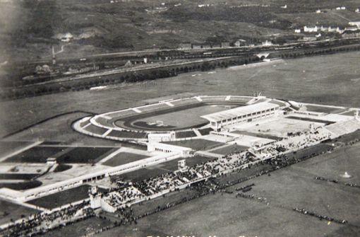 Das Stadion im Wandel der Zeit