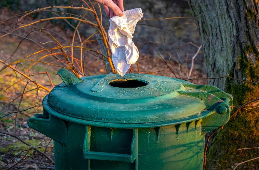 Wohin mit dem Corona-Müll? Foto: pixabay