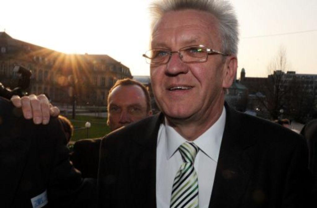 Baden-Württembergs Ministerpräsident Winfried Kretschmann Foto: dpa
