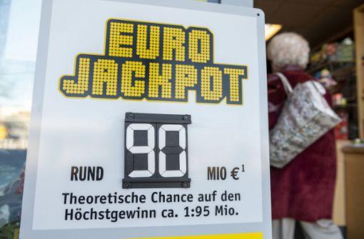 25-jähriger Oberfranke holt 90 Millionen Euro Lottogewinn