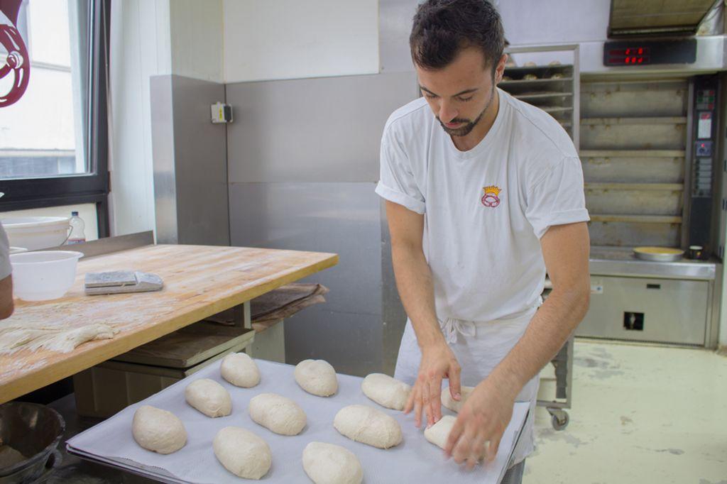 Francesco Ingrassia versteht sich als traditioneller Bäcker. Foto: Isabelle Zeiher