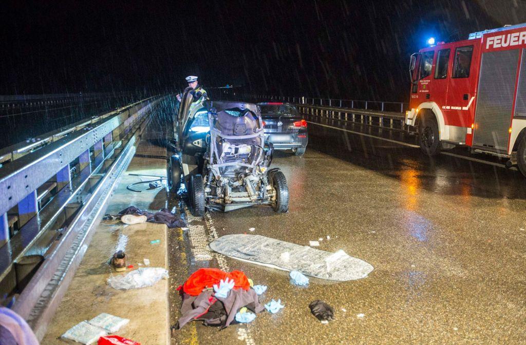 Einer der Unfallbeteiligten überlebte den Unfall nicht. Foto: 7aktuell.de/Simon Adomat