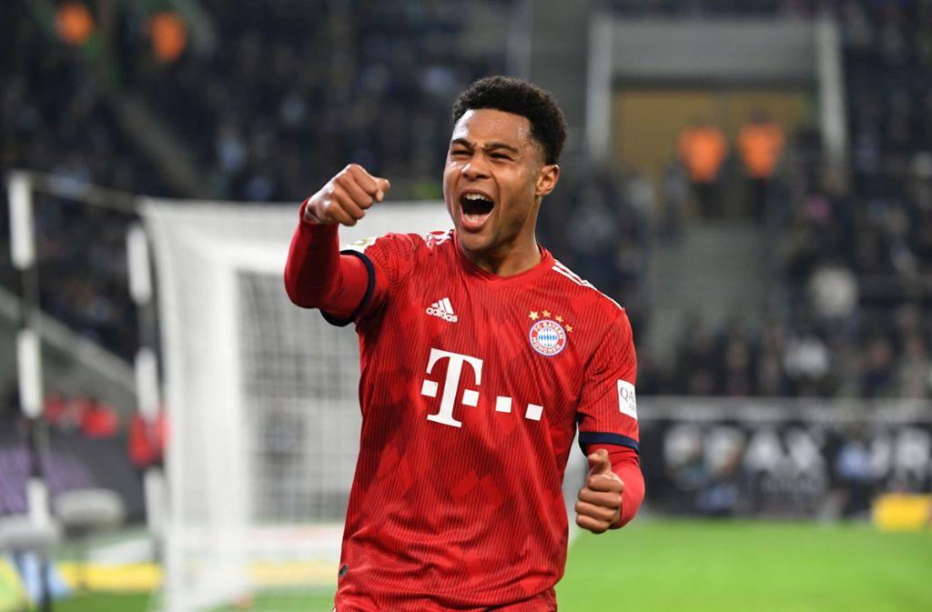 Serge Gnabry bleibt dem FC Bayern erhalten. Foto: dpa