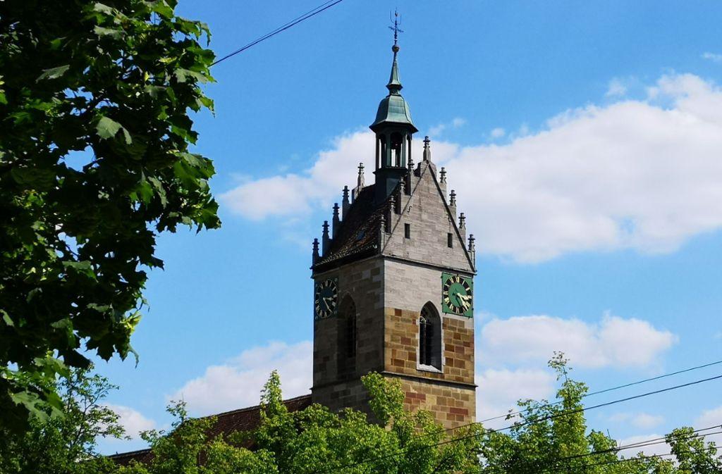 Der Turm der Lutherkirche in Fellbach. Foto: Patricia Sigerist