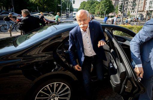Daimler-Chef Zetsche soll Klarheit bringen