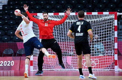 Deutsche Handballer nehmen Kurs auf Viertelfinale