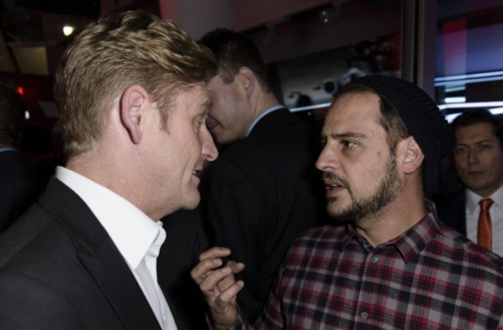 Wayne Griffiths (links) und Moritz Bleibtreu  Foto: Getty Images Europe