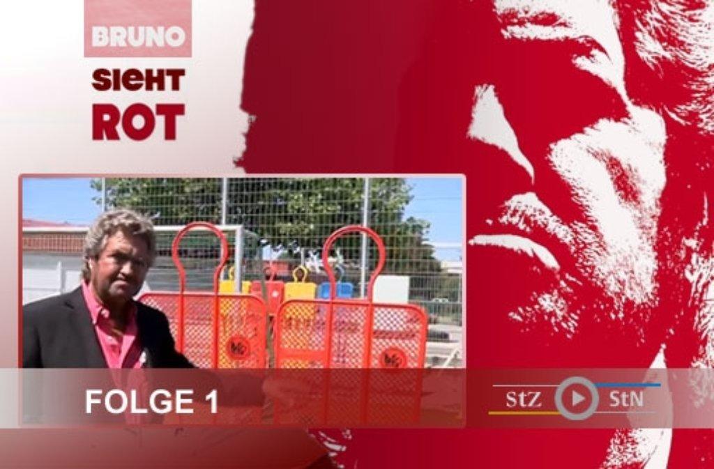 Bei den Dreharbeiten zu Folge 1 haben wir Bruno fotografiert: Klicken Sie sich durch ... Foto: SIR