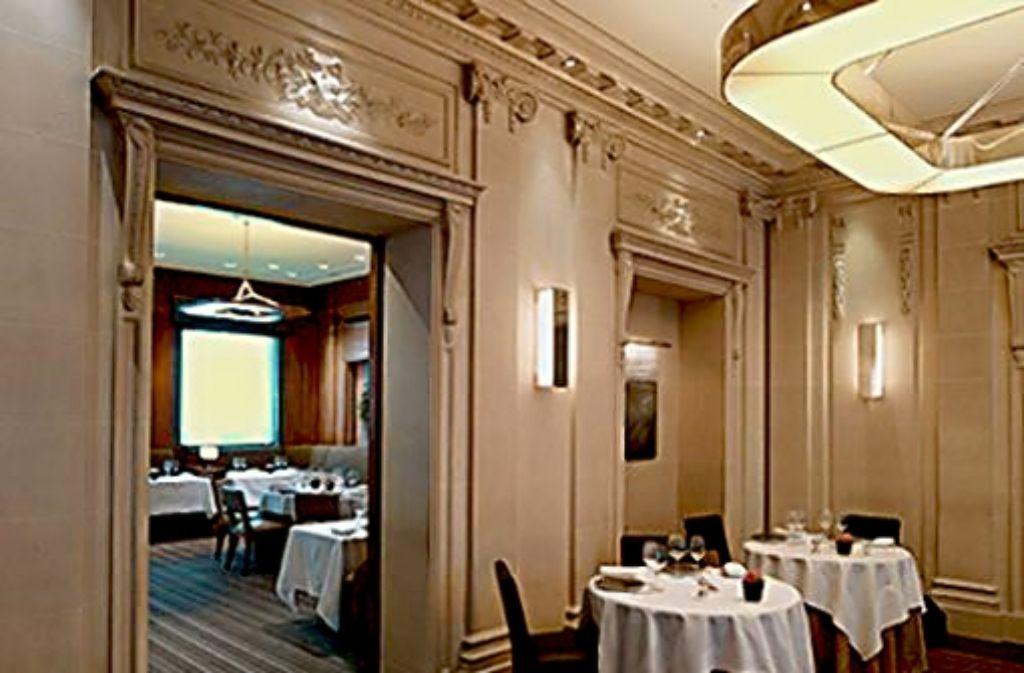 """Hier wurde im November 2010 der EnBW-Deal angebahnt: das Luxusrestaurant """"Le Taillevent"""" in Paris Foto: Taillevent"""
