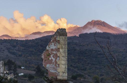 Vulkan Ätna lässt erneut die Erde beben